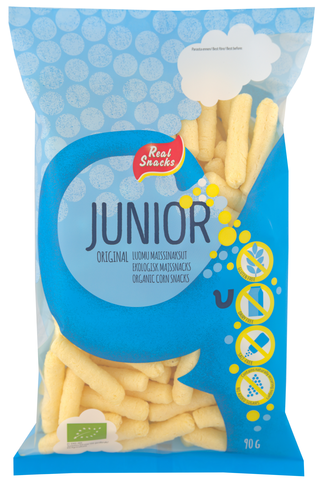 Real Snacks Junior 90g original luomumaissinaksu