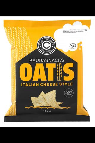 Oatis 150g italian cheese style kaurasnacks
