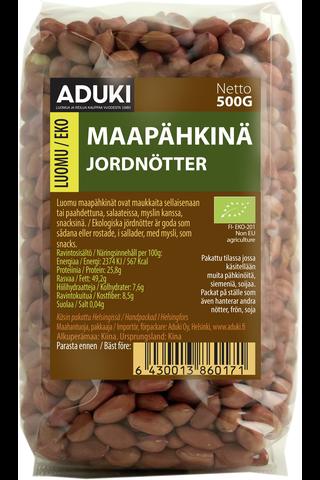 Aduki 500g maapähkinä luomu