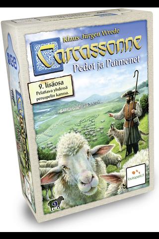 Lautapelit.fi Carcassonne Pedot ja Paimenet lisäosa