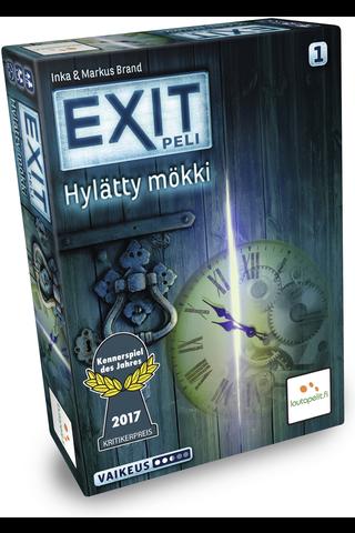 Lautapelit.fi EXIT Hylätty mökki lautapeli ikä 12+