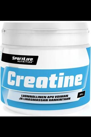 SportLife Nutrition 200g Creatine kreatiinimonohydraattijauhe