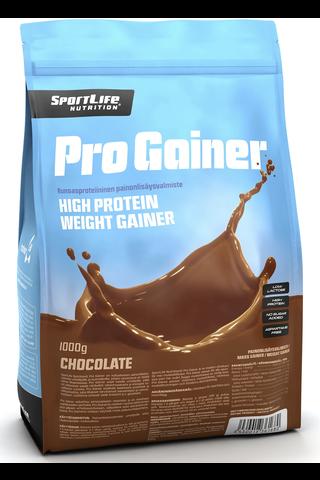 SportLife Nutrition Pro Gainer 1000g suklaa painonlisäysvalmiste