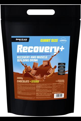 SportLife Nutrition Recovery+ 3kg suklaa palautusjuoma