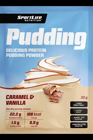 SportLife Nutrition Pudding 30g vanilja-karamelli proteiinivanukas