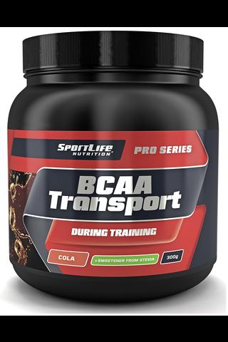 SportLife Nutrition BCAA Transport 300g cola Treenin aikana nautittava aminohappojuoma