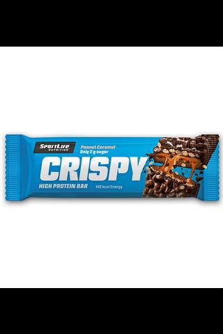 SportLife Nutrition Crispy 40g karamelli-pähkinä proteiinipatukka