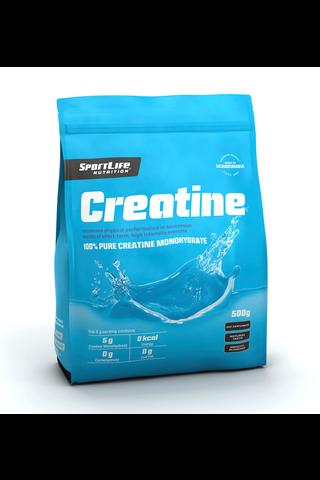 SportLife Nutrition Creatine 500g Kreatiinimonohydraatti