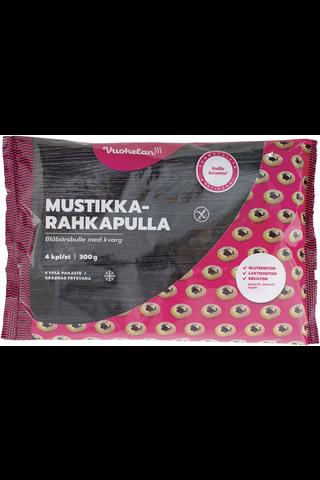 Vuohelan Herkku 300g Mustikka-rahkapulla 4kpl gluteeniton pakaste