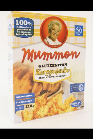 Mummon 210g Korppujauho gluteeniton