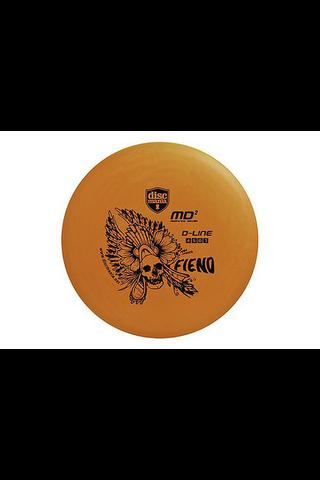 Discmania mid-range d-line md2 frisbeegolfkiekko