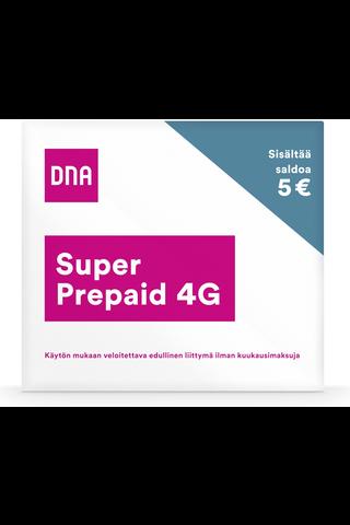 DNA Super Prepaid 4G