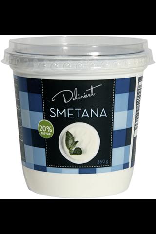 Deliciest Smetana 20% 350g