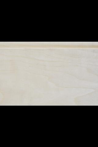 Pieksäwood paneeli haapa 15x120 STS 1800 mm (0,99 m2/pkt)