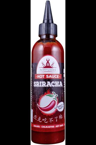 Poppamies Sriracha chilikastike 275g