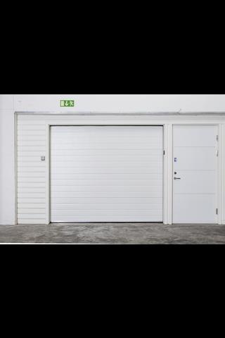 Turner Autotallin nosto-ovi 210 vaakaura 2500x2000 mm valkoinen