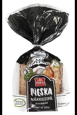 Kurkelan tilan Satumaista 200g Rieskanäkkileipä