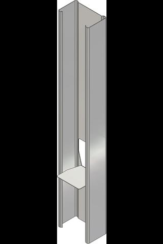 Väliseinäranka 120/40 L=4000 mm