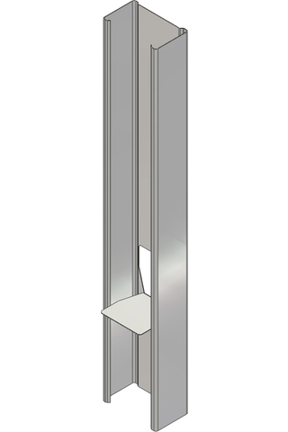Väliseinäranka 95/40 L=3600 mm