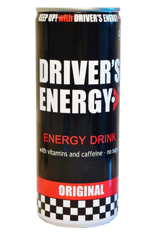 Driver's Energy 250ml Original energiajuoma sokeriton