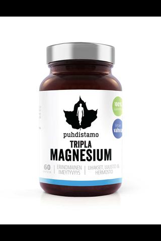 Puhdistamo Tripla Magnesium 60 kapselia