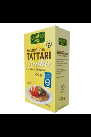 Virtasalmen Viljatuote Gluteeniton Suomalainen Tattarijauho 500g