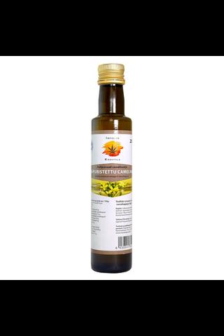 Impolan Kasvitilan kylmäpuristettu camelinaöljy 250 ml