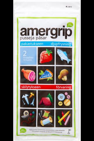 Amergrip pussi 2l 10kpl