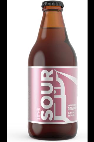 Suomenlinnan Panimo 0,33l Gethe Sour 4% olut