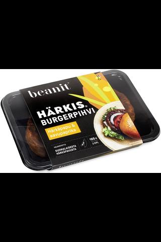 Beanit® Härkis® burgerpihvi härkäpapu & savupaprika 2kpl/165g