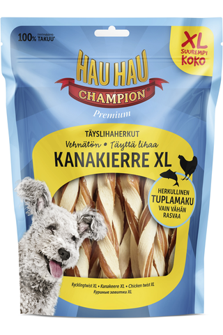 Hau-Hau Champion Täyslihaherkut Kanakierre 325g