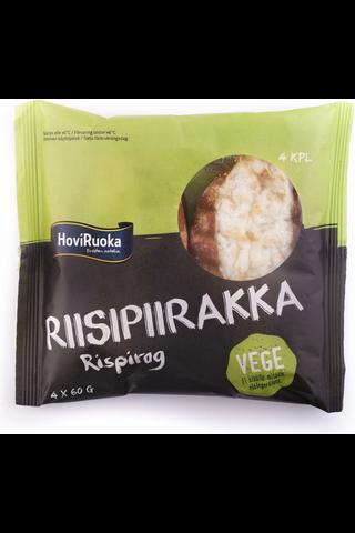 HoviRuoka 240g Vege riisipiirakka 4kpl