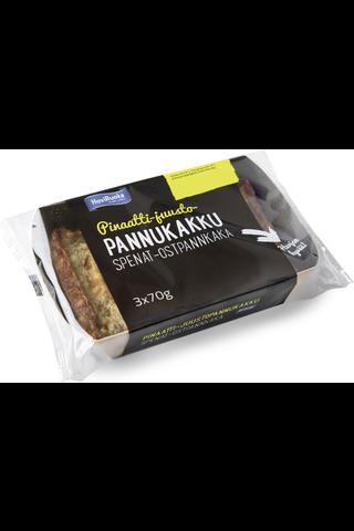 HoviRuoka 210g Pinaatti-juustopannukakku