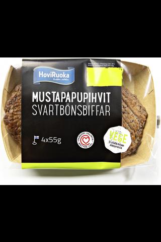 HoviRuoka 220g/4kpl Mustapapupihvi