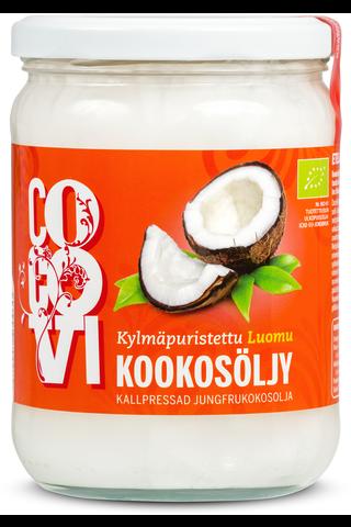 CocoVi Luomu Kylmäpuristettu Kookosöljy 500 ml