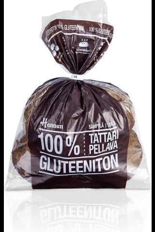 Hannun 320g 100% tattari-pellavasämpylä 4kpl gluteeniton