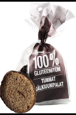 Hannun 180g 100% tumma jälkiuunipala gluteeniton