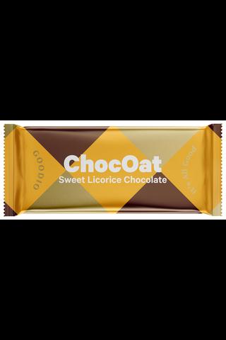 Goodio ChocOat 25g Sweet Licorice Luomu Kaurasuklaa