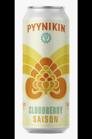 Pyynikin Käsityöläispanimo 0,5l Cloudberry Saison 5,0% tlk olut
