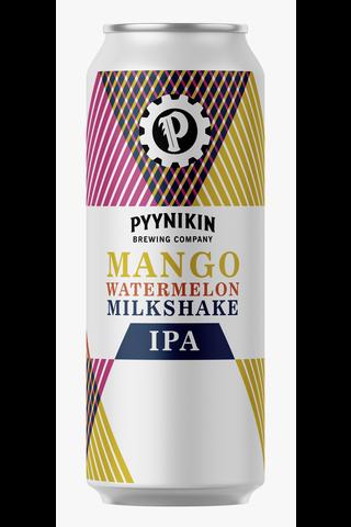 Pyynikin Käsityöläispanimo 0,5l mango-vesimelonipirtelö IPA-olut 4,0%