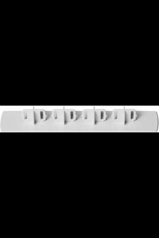 Lunawood muovinen päätytulppa TWPC harmaa