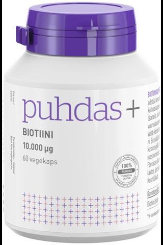 Puhdas+ Biotiini 10 mg 60 vegekaps