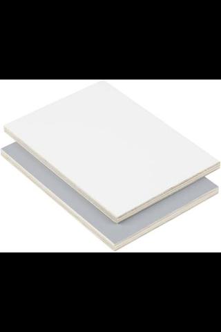 Flex F/F valkoinen/harmaa havu vaneri