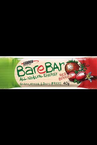 Leader Barebar punaiset marjat taatelipatukka 40 g