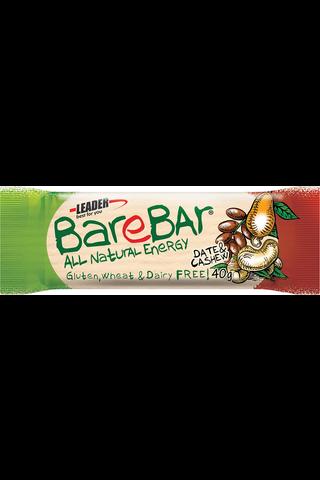 Leader Barebar taatalipatukka taateli-cashewpähkinä 40g