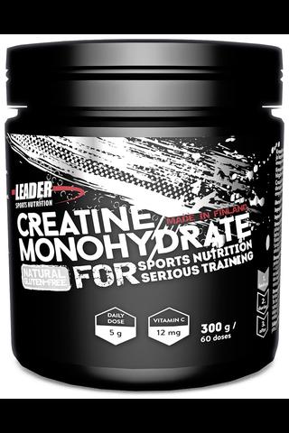 Leader Sports Nutrition ravintolisä Kreatiinimonohydraatti C-vitamiinijuomajauhe 300g