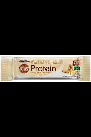 Leader Protein softbar gluteeniton proteiinipatukka valkosuklaa 60 g