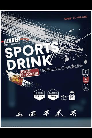 Leader Sports Drink urheilujuomajauhe colanmakuinen 45g