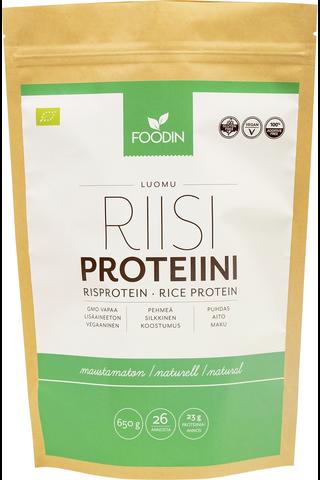 Foodin Riisiproteiini, luomu 650g