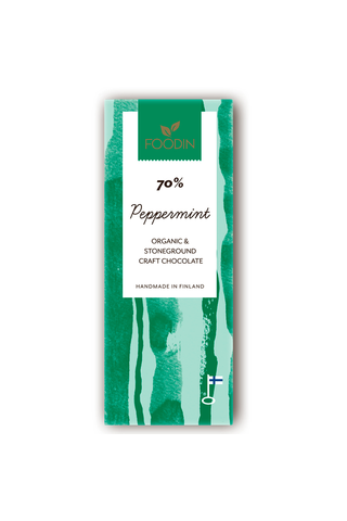 Foodin Luomusuklaa Piparminttu 40g